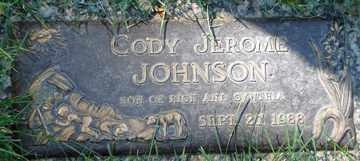 JOHNSON, CODY JEROME - Minnehaha County, South Dakota   CODY JEROME JOHNSON - South Dakota Gravestone Photos