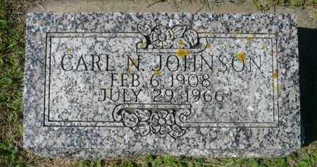 JOHNSON, CARL N. - Minnehaha County, South Dakota | CARL N. JOHNSON - South Dakota Gravestone Photos