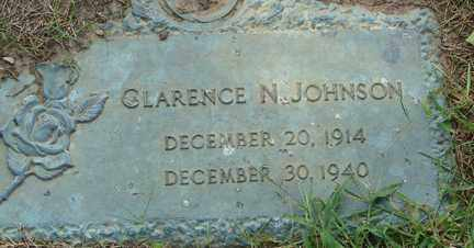 JOHNSON, CLARENCE N. - Minnehaha County, South Dakota | CLARENCE N. JOHNSON - South Dakota Gravestone Photos