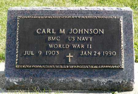 JOHNSON, CARL M. (WWII) - Minnehaha County, South Dakota   CARL M. (WWII) JOHNSON - South Dakota Gravestone Photos
