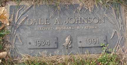 JOHNSON, DALE A. - Minnehaha County, South Dakota   DALE A. JOHNSON - South Dakota Gravestone Photos