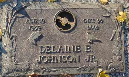 JOHNSON, DELAINE E.  JR. - Minnehaha County, South Dakota | DELAINE E.  JR. JOHNSON - South Dakota Gravestone Photos