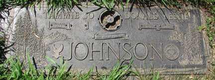 JOHNSON, DIONALD LESLIE - Minnehaha County, South Dakota | DIONALD LESLIE JOHNSON - South Dakota Gravestone Photos