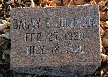 JOHNSON, DAGNY B. - Minnehaha County, South Dakota | DAGNY B. JOHNSON - South Dakota Gravestone Photos