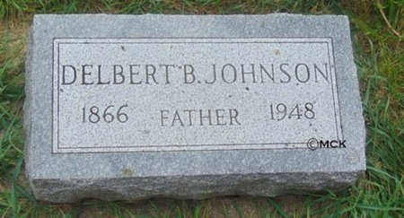 JOHNSON, DELBERT B. - Minnehaha County, South Dakota | DELBERT B. JOHNSON - South Dakota Gravestone Photos