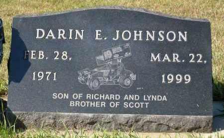 JOHNSON, DARIN E. - Minnehaha County, South Dakota   DARIN E. JOHNSON - South Dakota Gravestone Photos