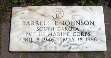 JOHNSON, DARRELL L. (MILITARY) - Minnehaha County, South Dakota | DARRELL L. (MILITARY) JOHNSON - South Dakota Gravestone Photos