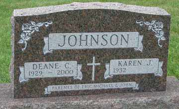 JOHNSON, KAREN J. - Minnehaha County, South Dakota | KAREN J. JOHNSON - South Dakota Gravestone Photos