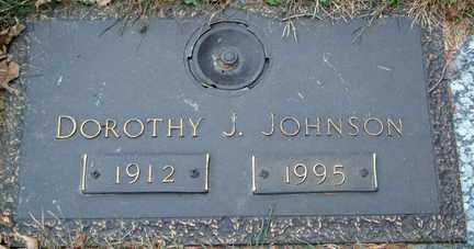 JOHNSON, DOROTHY J, - Minnehaha County, South Dakota | DOROTHY J, JOHNSON - South Dakota Gravestone Photos