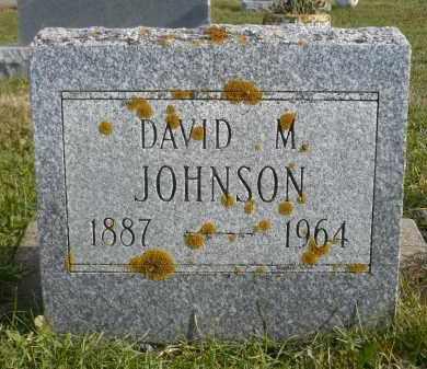 JOHNSON, DAVID M. - Minnehaha County, South Dakota | DAVID M. JOHNSON - South Dakota Gravestone Photos