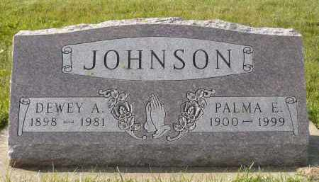 JOHNSON, DEWEY A. - Minnehaha County, South Dakota | DEWEY A. JOHNSON - South Dakota Gravestone Photos
