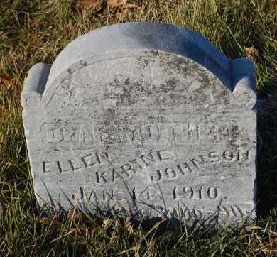 JOHNSON, ELLEN KARINE - Minnehaha County, South Dakota | ELLEN KARINE JOHNSON - South Dakota Gravestone Photos