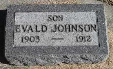 JOHNSON, EVALD - Minnehaha County, South Dakota | EVALD JOHNSON - South Dakota Gravestone Photos