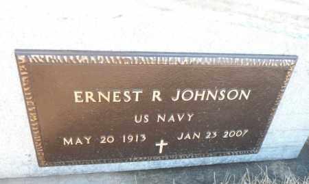 JOHNSON, ERNEST R. - Minnehaha County, South Dakota | ERNEST R. JOHNSON - South Dakota Gravestone Photos