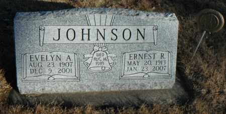 JOHNSON, ERNEST R. - Minnehaha County, South Dakota | ERNEST R. JOHNSON - South Dakota Gravestone Photos