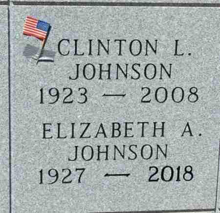 JOHNSON, CLINTON - Minnehaha County, South Dakota | CLINTON JOHNSON - South Dakota Gravestone Photos