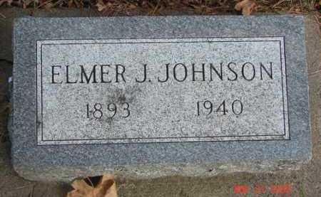 JOHNSON, ELMER J. - Minnehaha County, South Dakota | ELMER J. JOHNSON - South Dakota Gravestone Photos