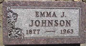 JOHNSON, EMMA J. - Minnehaha County, South Dakota | EMMA J. JOHNSON - South Dakota Gravestone Photos