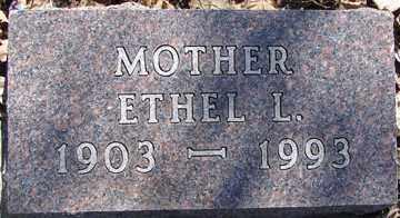 JOHNSON, ETHEL L. - Minnehaha County, South Dakota | ETHEL L. JOHNSON - South Dakota Gravestone Photos