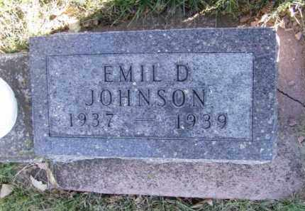 JOHNSON, EMIL D. - Minnehaha County, South Dakota | EMIL D. JOHNSON - South Dakota Gravestone Photos