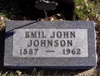 JOHNSON, EMIL JOHN - Minnehaha County, South Dakota | EMIL JOHN JOHNSON - South Dakota Gravestone Photos