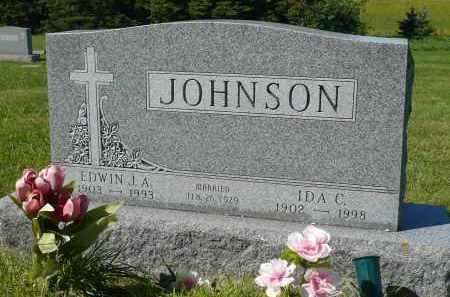 JOHNSON, EDWIN J.A. - Minnehaha County, South Dakota | EDWIN J.A. JOHNSON - South Dakota Gravestone Photos