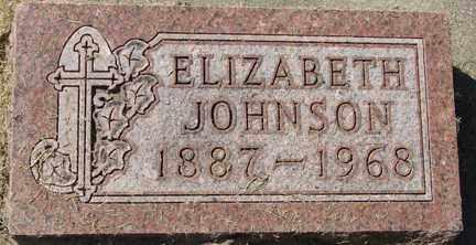 JOHNSON, ELIZABETH - Minnehaha County, South Dakota | ELIZABETH JOHNSON - South Dakota Gravestone Photos