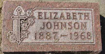 JOHNSON, ELIZABETH - Minnehaha County, South Dakota | ELIZABETH JOHNSON - South Dakota Gravestone Photos