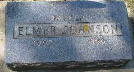 JOHNSON, ELMER - Minnehaha County, South Dakota | ELMER JOHNSON - South Dakota Gravestone Photos