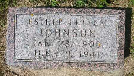 JOHNSON, ESTHER LUELLA - Minnehaha County, South Dakota | ESTHER LUELLA JOHNSON - South Dakota Gravestone Photos