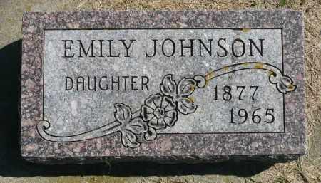 JOHNSON, EMILY - Minnehaha County, South Dakota | EMILY JOHNSON - South Dakota Gravestone Photos