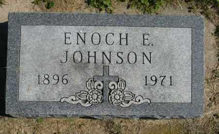 JOHNSON, ENOCH E. - Minnehaha County, South Dakota | ENOCH E. JOHNSON - South Dakota Gravestone Photos