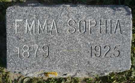JOHNSON, EMMA SOPHIA - Minnehaha County, South Dakota   EMMA SOPHIA JOHNSON - South Dakota Gravestone Photos