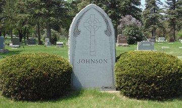 JOHNSON, FAMILY HEADSTONE - Minnehaha County, South Dakota | FAMILY HEADSTONE JOHNSON - South Dakota Gravestone Photos