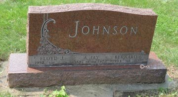 JOHNSON, AXEL JAY - Minnehaha County, South Dakota | AXEL JAY JOHNSON - South Dakota Gravestone Photos
