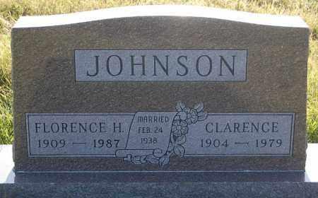 JOHNSON, CLARENCE - Minnehaha County, South Dakota | CLARENCE JOHNSON - South Dakota Gravestone Photos