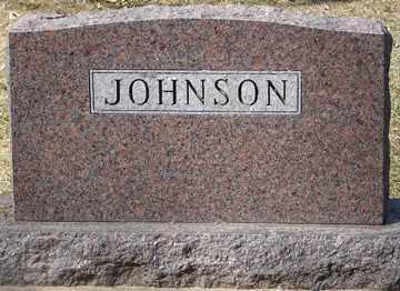 JOHNSON, FAMILY MARKER - Minnehaha County, South Dakota   FAMILY MARKER JOHNSON - South Dakota Gravestone Photos