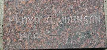 JOHNSON, FLOYD GAYLORD - Minnehaha County, South Dakota   FLOYD GAYLORD JOHNSON - South Dakota Gravestone Photos