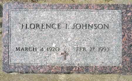 JOHNSON, FLORENCE I. - Minnehaha County, South Dakota | FLORENCE I. JOHNSON - South Dakota Gravestone Photos