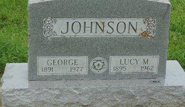 JOHNSON, GEORGE - Minnehaha County, South Dakota | GEORGE JOHNSON - South Dakota Gravestone Photos
