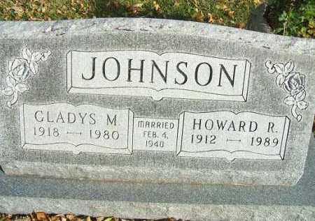 JOHNSON, HOWARD R. - Minnehaha County, South Dakota   HOWARD R. JOHNSON - South Dakota Gravestone Photos