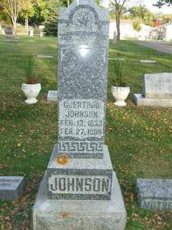 JOHNSON, GJERTRUD - Minnehaha County, South Dakota | GJERTRUD JOHNSON - South Dakota Gravestone Photos
