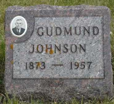 JOHNSON, GUDMUND - Minnehaha County, South Dakota | GUDMUND JOHNSON - South Dakota Gravestone Photos