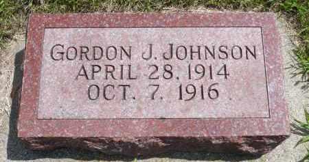 JOHNSON, GORDON J. - Minnehaha County, South Dakota | GORDON J. JOHNSON - South Dakota Gravestone Photos