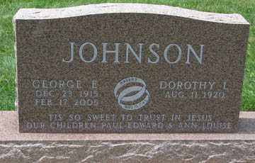 JOHNSON, DOROTHY L. - Minnehaha County, South Dakota | DOROTHY L. JOHNSON - South Dakota Gravestone Photos