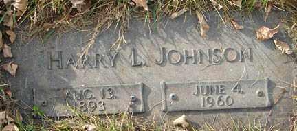 JOHNSON, HARRY L. - Minnehaha County, South Dakota   HARRY L. JOHNSON - South Dakota Gravestone Photos