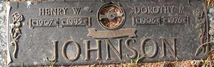 JOHNSON, HENRY W. - Minnehaha County, South Dakota   HENRY W. JOHNSON - South Dakota Gravestone Photos