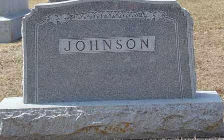JOHNSON, HEADSTONE - Minnehaha County, South Dakota | HEADSTONE JOHNSON - South Dakota Gravestone Photos