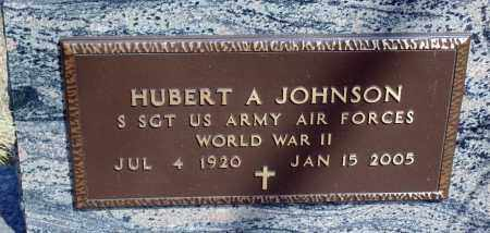 JOHNSON, HUBERT A. - Minnehaha County, South Dakota | HUBERT A. JOHNSON - South Dakota Gravestone Photos