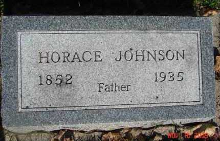 JOHNSON, HORACE - Minnehaha County, South Dakota | HORACE JOHNSON - South Dakota Gravestone Photos